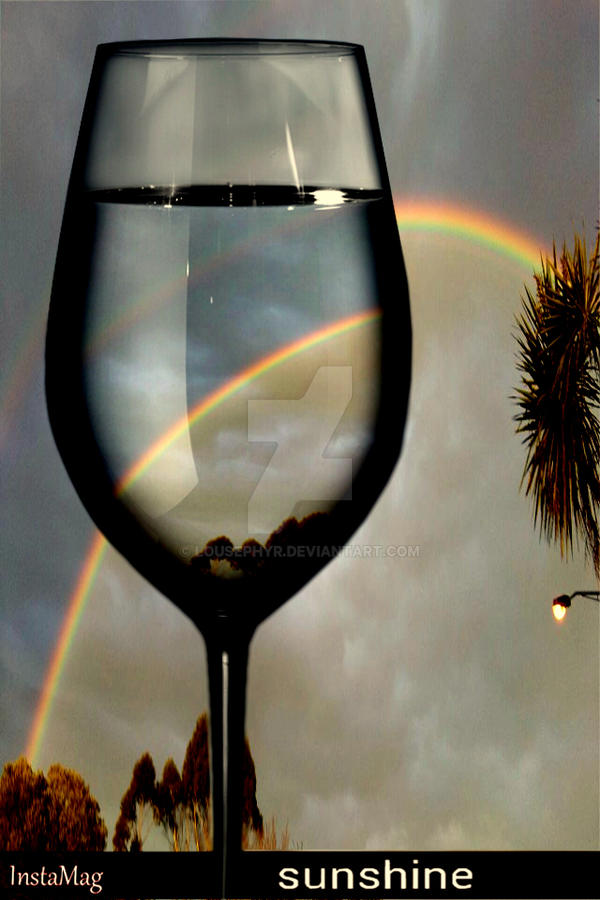 Rainbow Wine...pipcamera by lousephyr