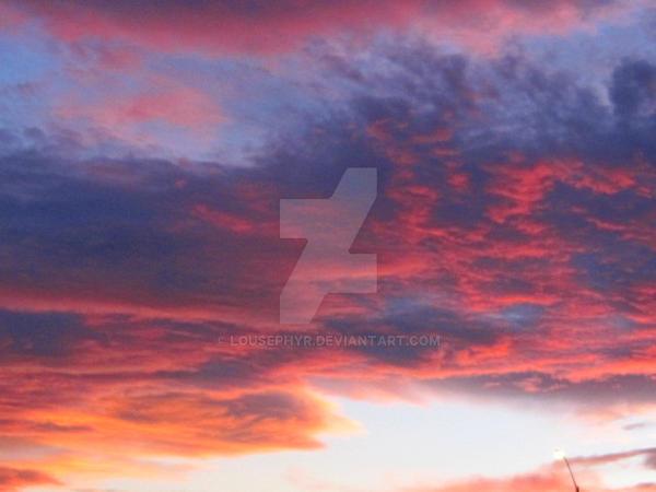 Fire n Sky by lousephyr