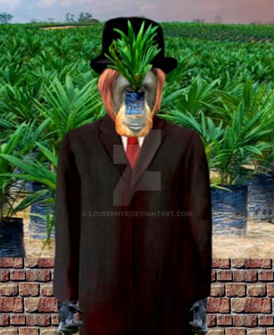 Son of Mans Palm by lousephyr