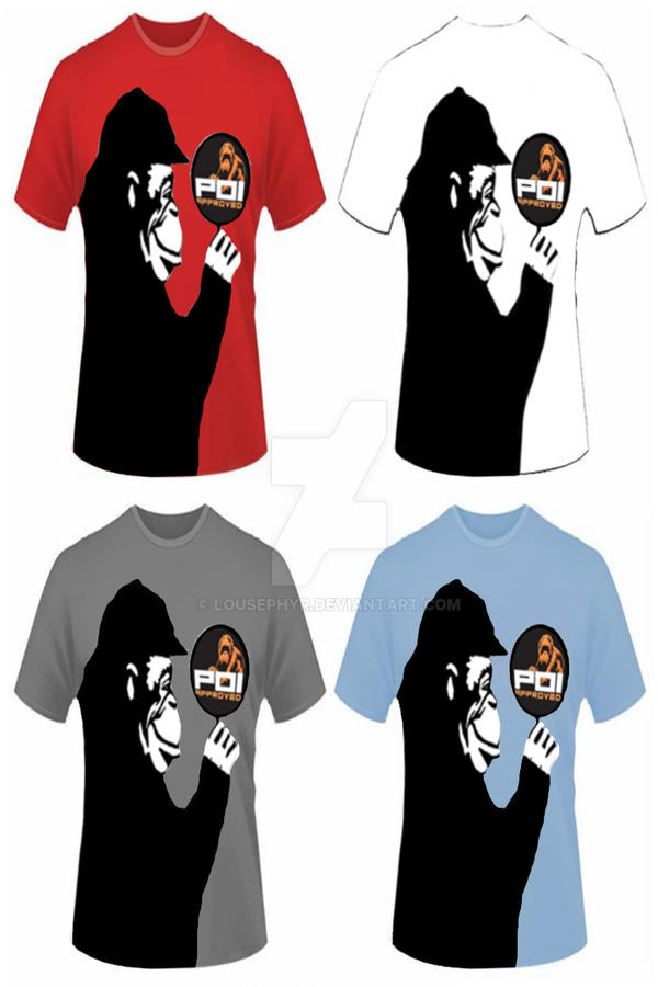 P.O.I..2..t-shirts. designs by lousephyr