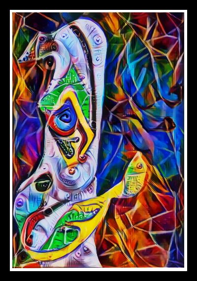Deep Dreamin Jester by lousephyr