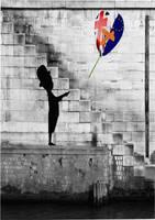 Hope-less.. Banksy parody by lousephyr