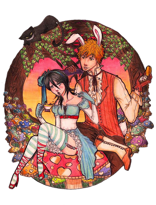 All the Time in Wonderland by Lendra-chan