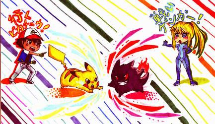 PokeMeteMashup by Lendra-chan