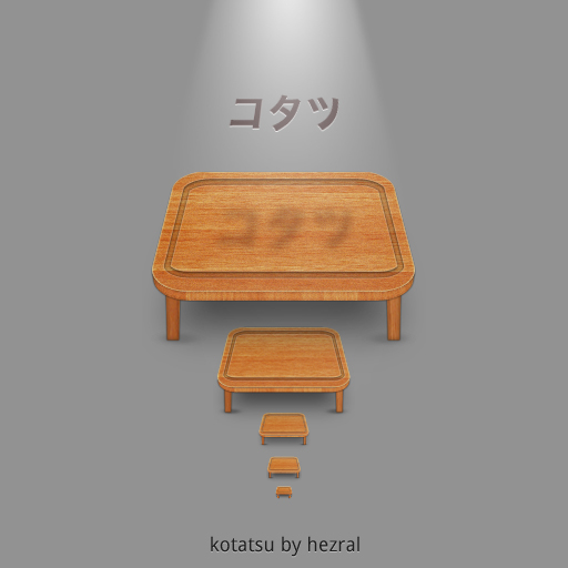 kotatsu is also a table by hezral