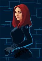 Marvel: Black Widow by LucidOrange