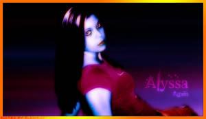 It's Alyssa Again by GlowBug