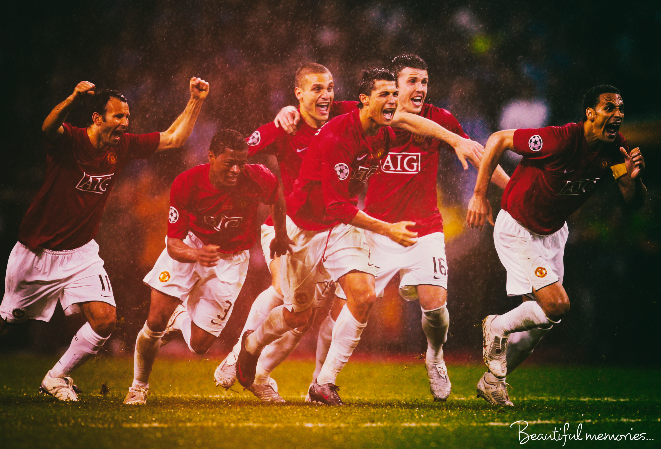 Manchester United Champions League 2008 By Fristajlere On