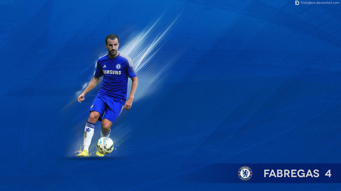 Cesc Fabregas Wallpaper - Chelsea by Fristajlere on DeviantArt