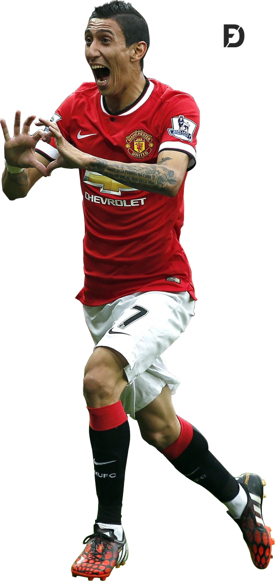 Angel Di Maria Render Manchester United By Fristajlere On Deviantart
