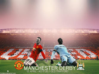 Manchester derby 12 April 2015 by Fristajlere