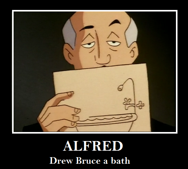 gotta love Alfred by Endeavor4ever