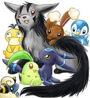 Pokemon by evecat05