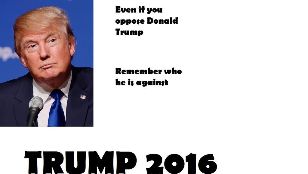 Donald Trump Poster 2016 by Midnight-Fantom