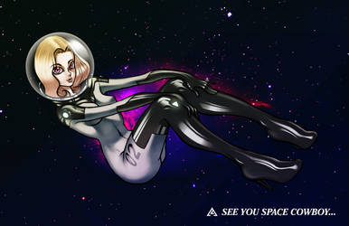 Space Cowgirl by LiquifyArts