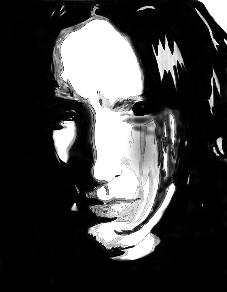 Pencil Trent Reznor by brandchan