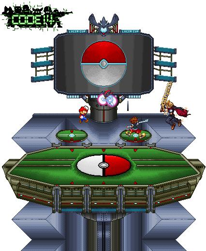 Pokemon Stadium Background SSBB Pokemon Stadium b...