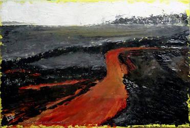 Chaotic Landscape by Chris-Blue