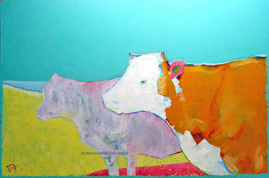 Summer cows by Chris-Blue