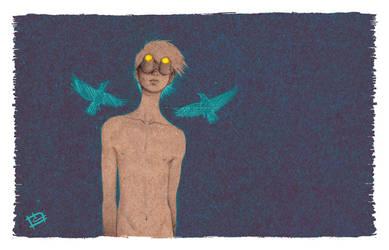 Quantenverschrankung by Chris-Blue