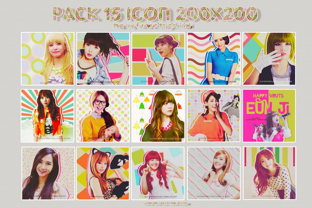Avt Pack [Top my favourite girl idol] by Shawolki