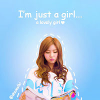 I'm just a girl .... a lovely girl .... by Shawolki