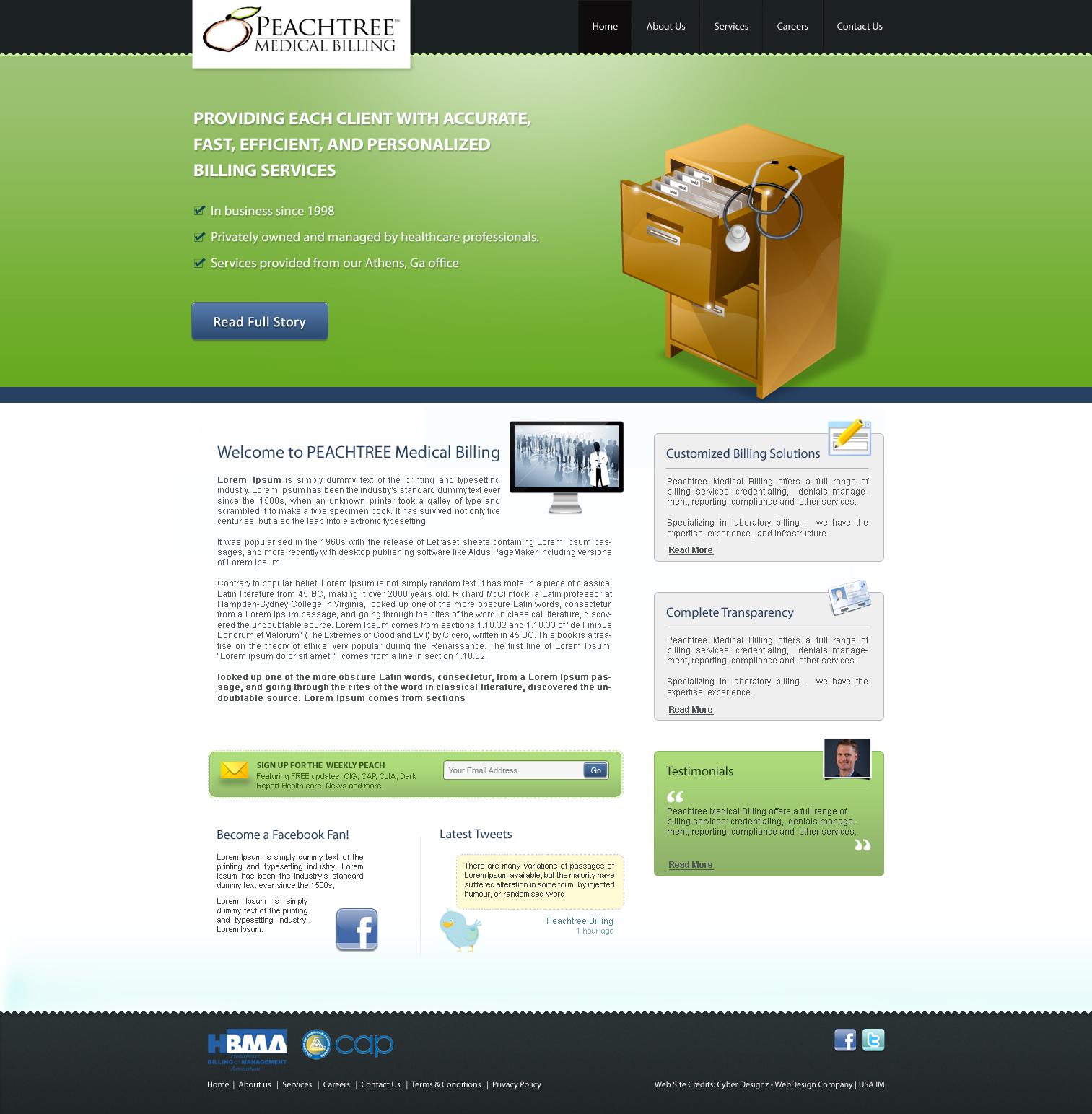 Clean Modern Web Design