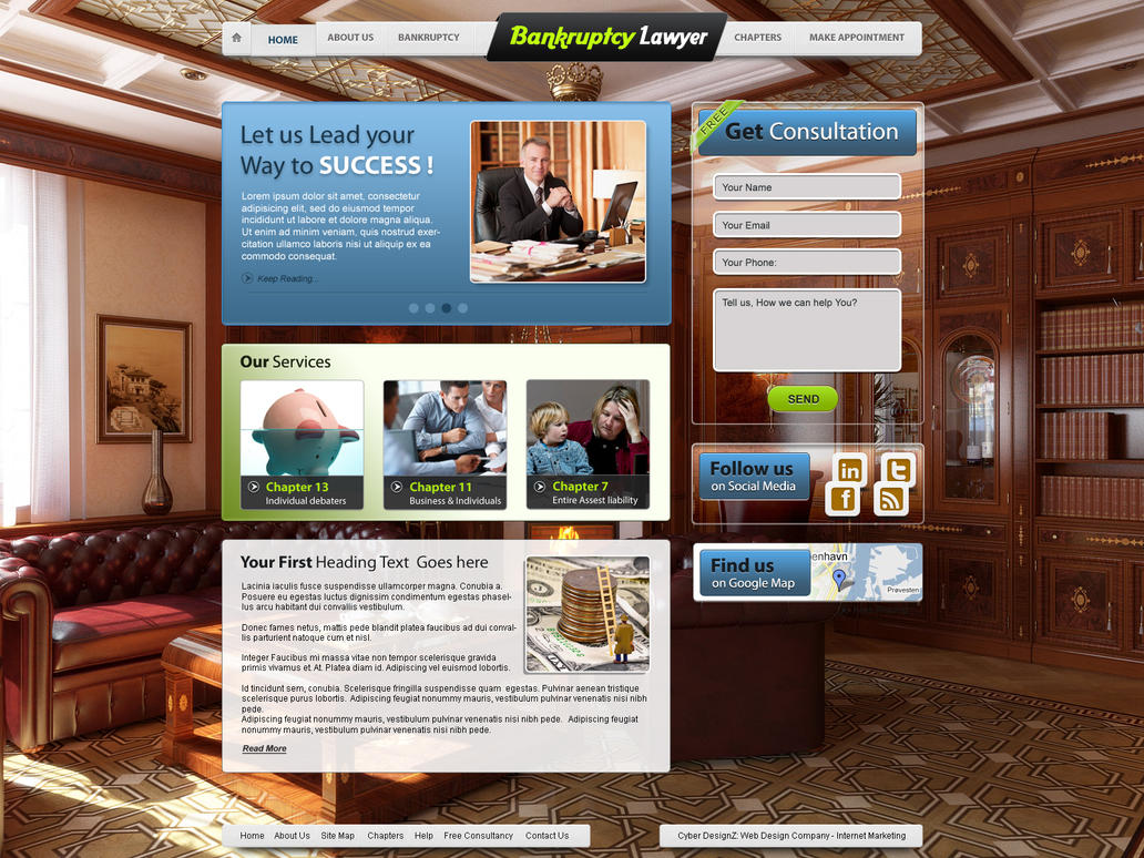Bankruptcy Lawyer by Ibrahim-Nisar