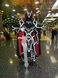 Anime Central 2015: Black Knight Cosplay by MurasakiKoneko