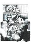 Storm Warning: The Relic Part 5 P9 Original Inks