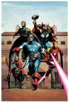 Avengers Commission Colours