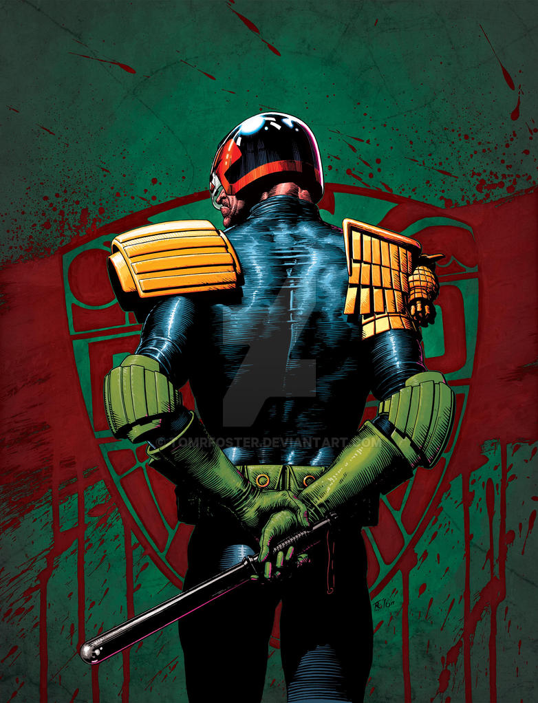 2000AD Prog 1986 cover by TomRFoster