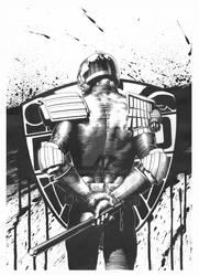 2000AD Prog 1986 cover (Original Inks)