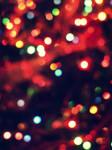 christmas bokeh texture