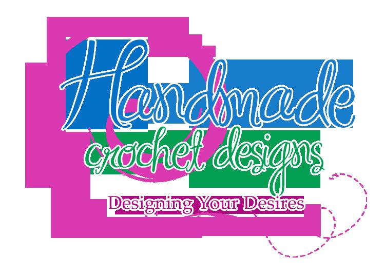 Handmade Crochet Designs Logo By LoriBorde