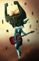 Midna's Schecter by Cryzeu