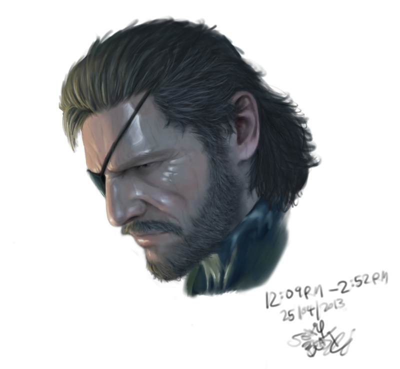Metal Gear Solid V: The Phantom Pain - Snake by Cloudy-0w0