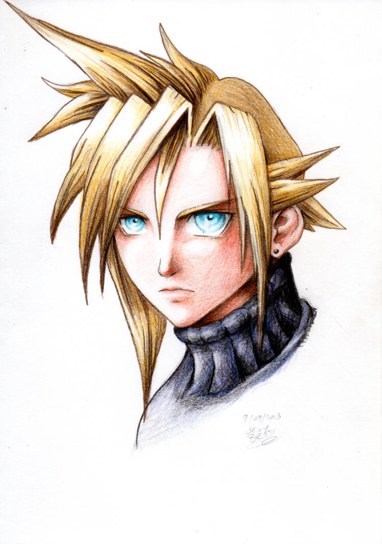 Cloud Strife by Cloudy-0w0