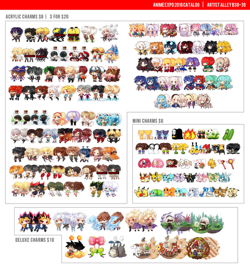 Catalog-charms by h-yde
