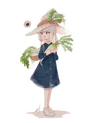 Daikon witch by h-yde