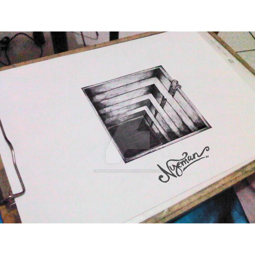 Sketsa 3d By Nyomandavid On Deviantart