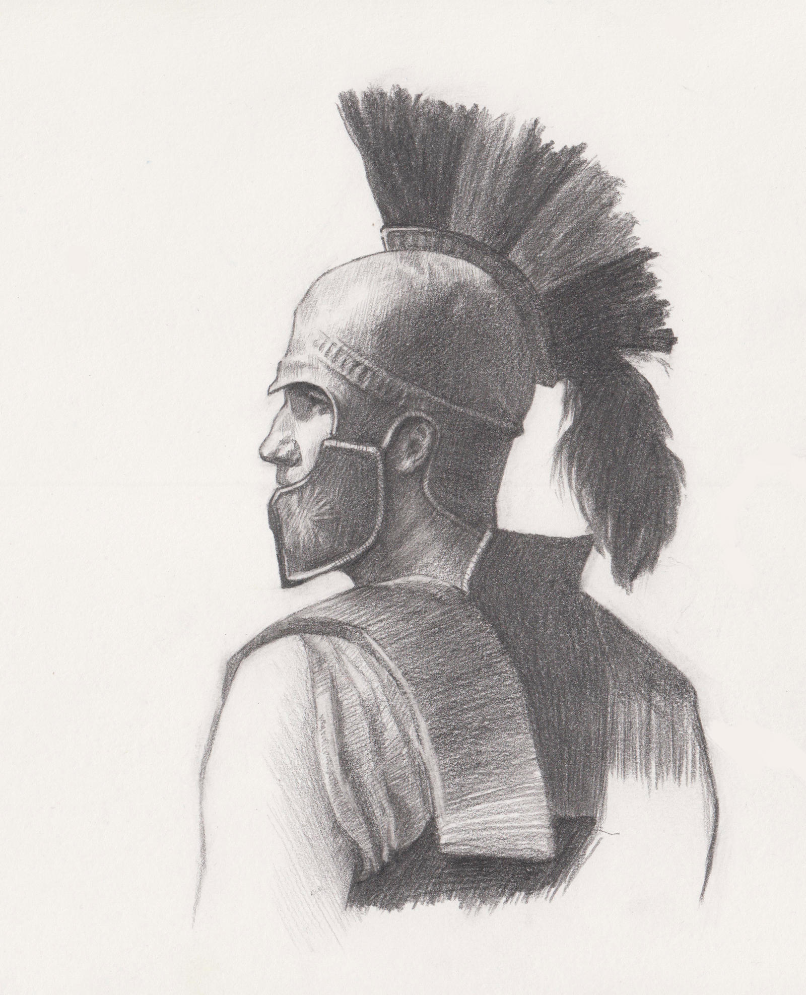 Just a macedonian warrior :P by LeoV95