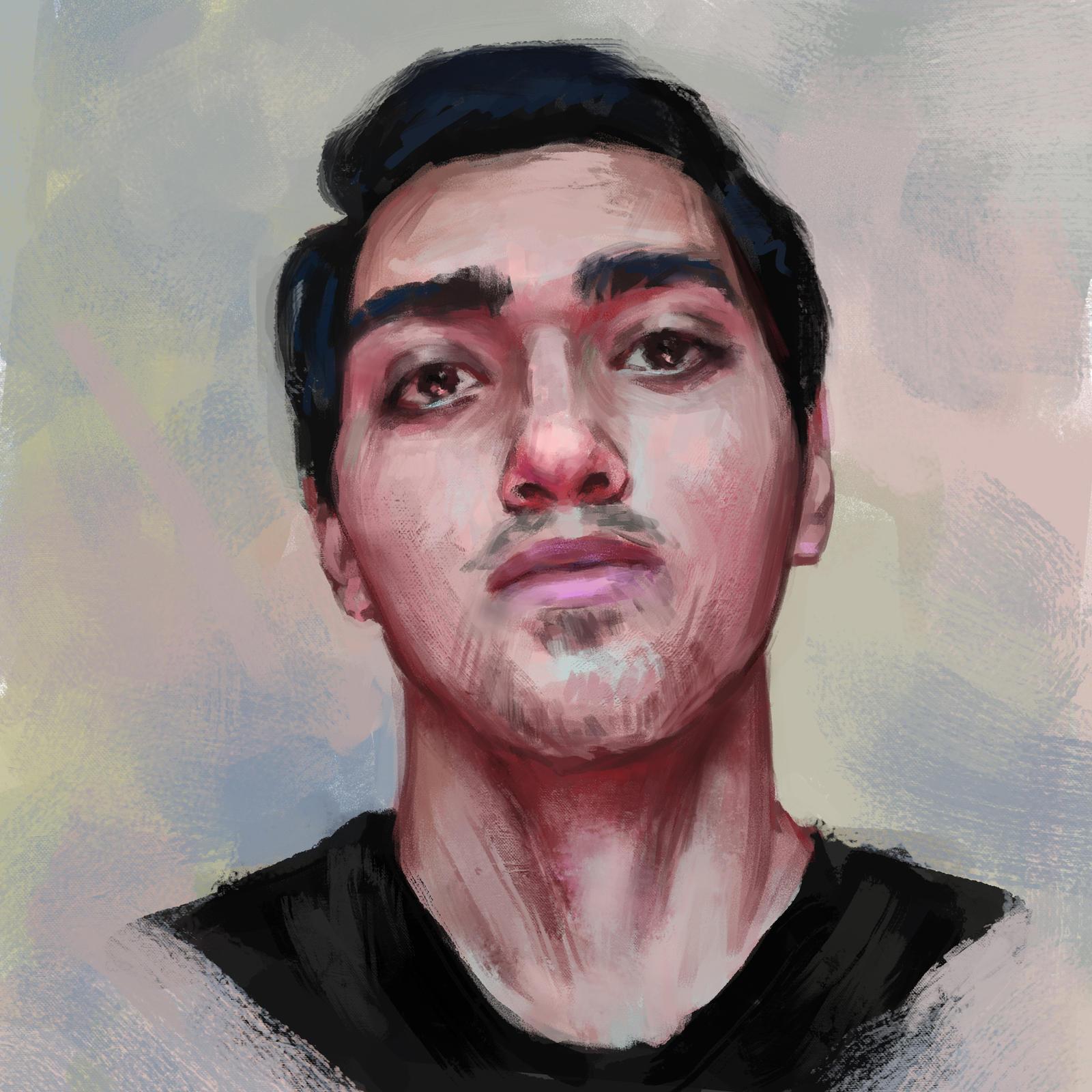 Afghan guy. by LeoV95