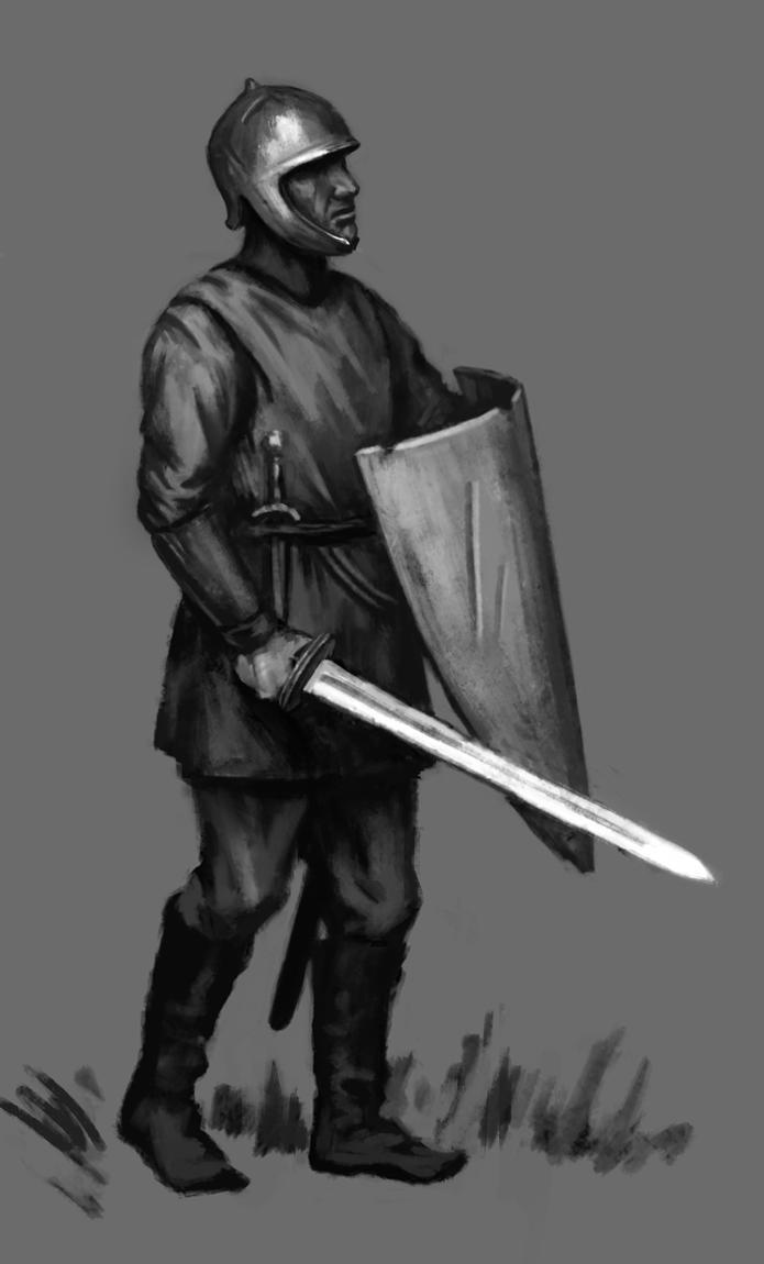 A random soldier. by LeoV95