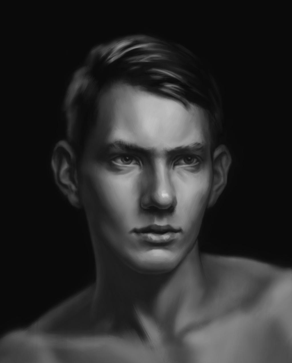 A guy. by LeoV95