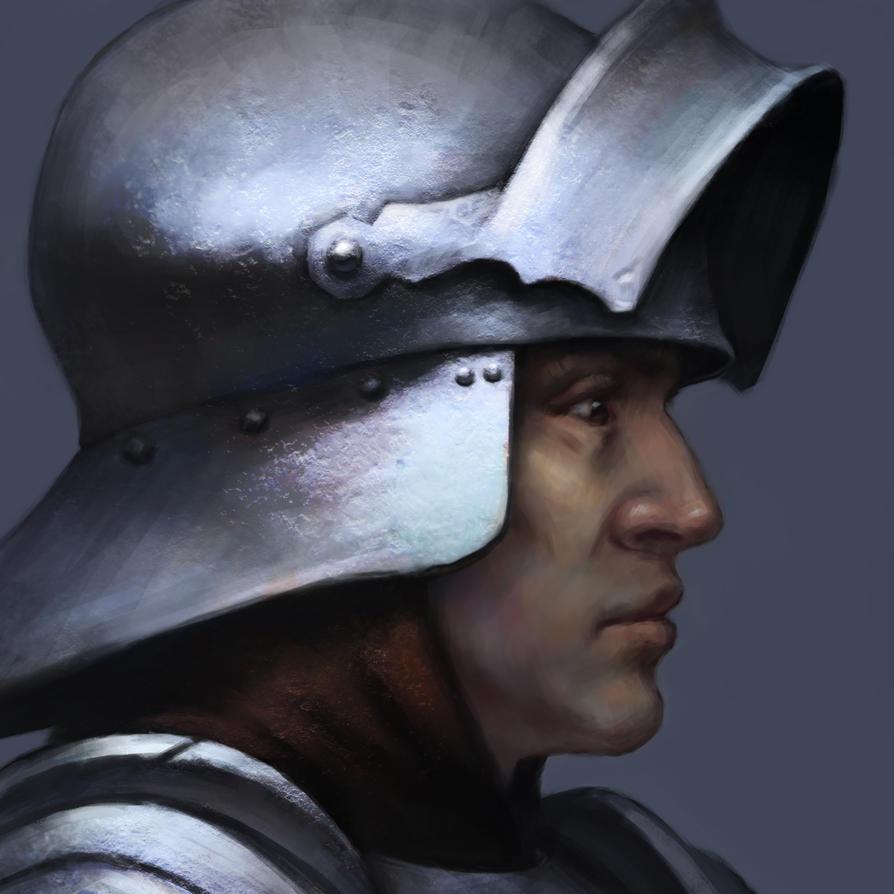 Knight. by LeoV95
