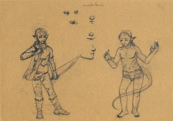 Tuan Shamara lineup by LysArgente