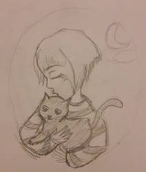 Fran bow and mr midnight by Astrianne-art