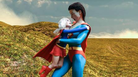 Kara Zor-El surprises Superwoman calling her mama