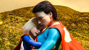 Kara Zor-El Grieves over her loss while Clara hold